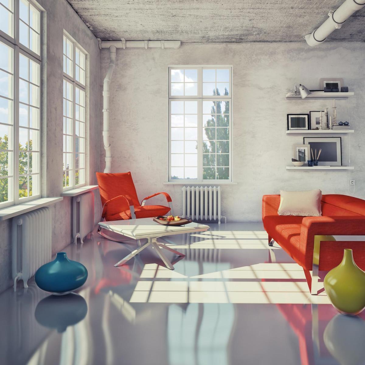 Peinture r sine epoxy cuisine et sol int rieur maison tanche - Revetement etanche salle de bain ...