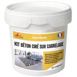 KIT BETON CIRE SUR CARRELAGE