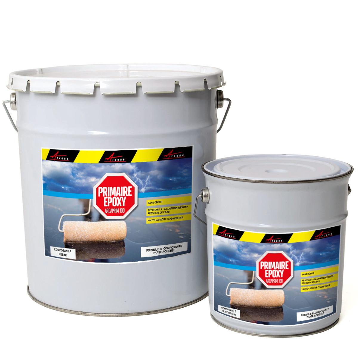 Primaire époxy pour piscine coque polyester et carrelage - ARCAPRIMER 100