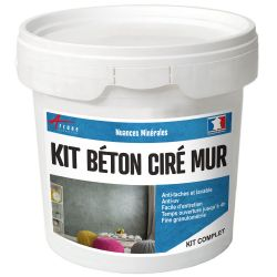Kit beton cire mur - Couleur / Aspect