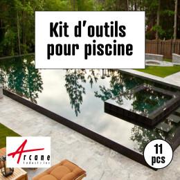outils d'application pour peinture piscine