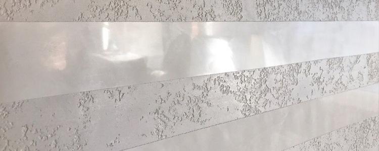 Stuc brillant et enduit mural
