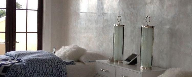 stuc mur chambre stucco