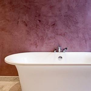 stuc salle de bains