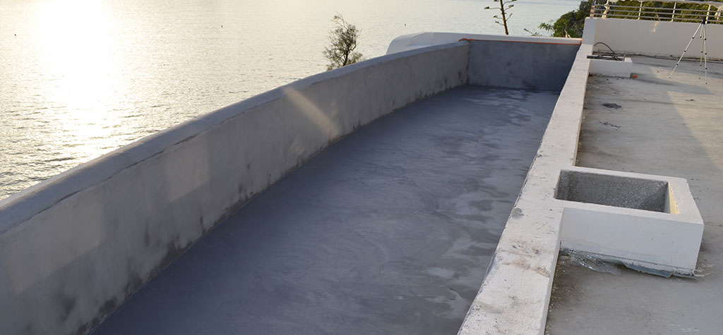 mortier etanche piscine decoration type beton cire